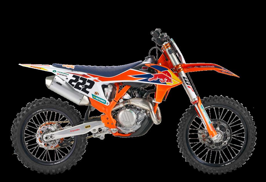 KTM MX 450 SX F Cairoli 2020
