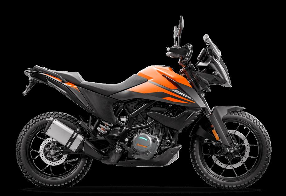 Moto KTM Travel 390 orange 2021