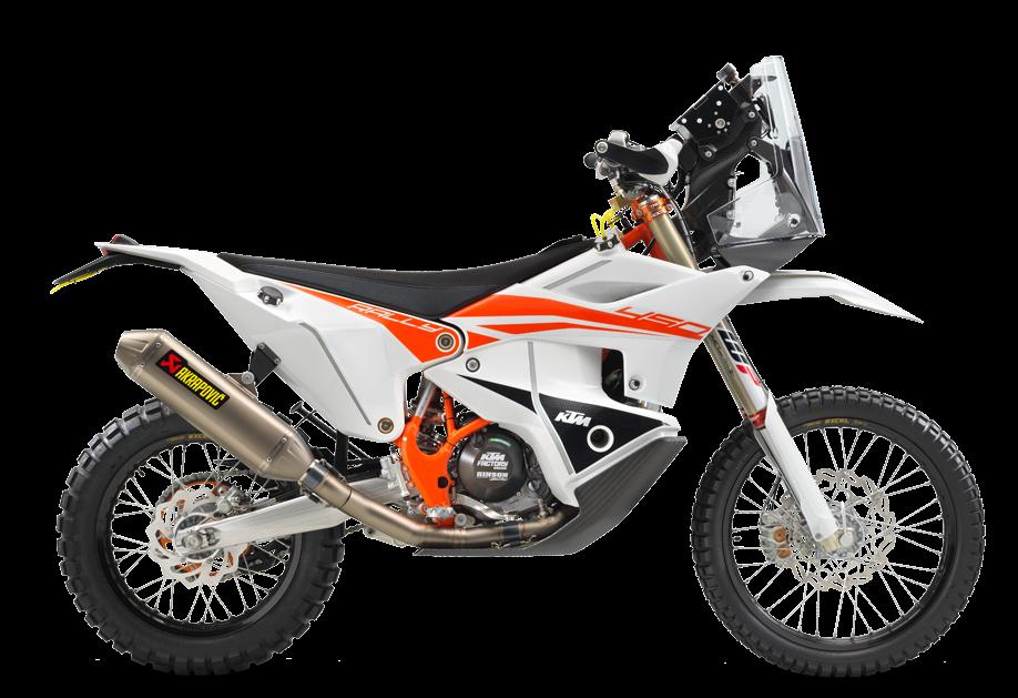Moto KTM Travel 450 Rally Factory Replica 2021