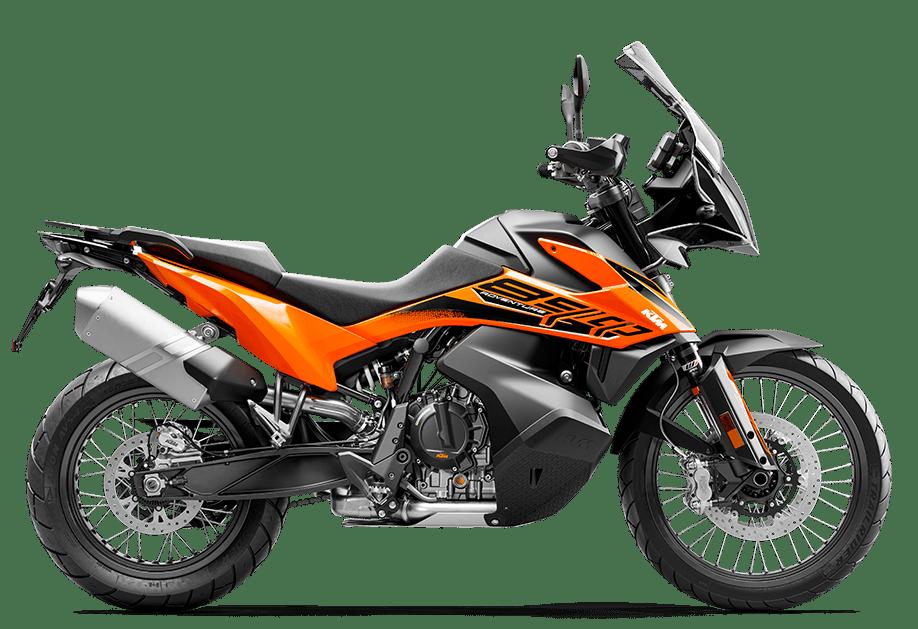 Moto KTM Travel 890 Adventure orange 2021